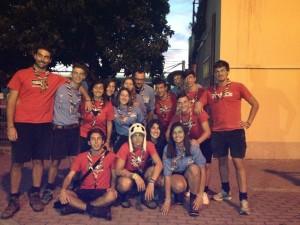 31-07-2014 PARTENZA PER ROUTE NAZIONALE 2014