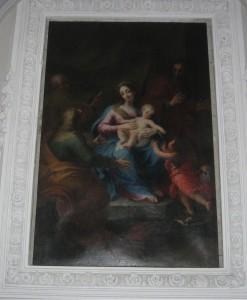 Madonna con Bambino, S. Anna e S. Gioacchino