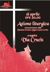 viacrucis 14 e azione liturgica