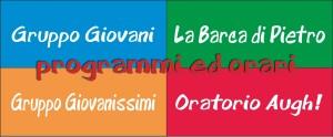 banner oratorio e gruppi 2015