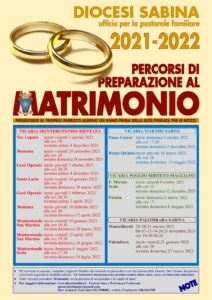 Corsi Prematrimoniali 2021-2011